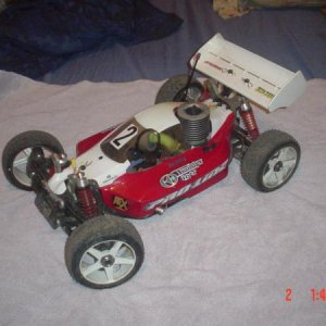 Picture 398 Thunder Tiger EB4S3#1  RB-S5 engine  flat chassis