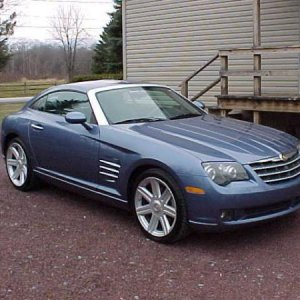 My 2005 Chrysler Crossfire Limited Coupe.