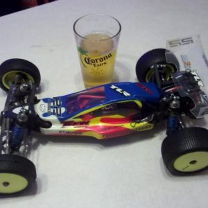 Losi Twenty Two 17.5 Blinky