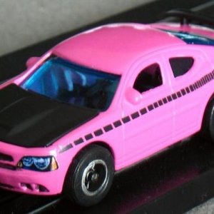 AW 08 Dodge Charger Pink Black Front