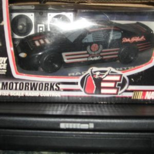 1:32 scale #3 dale sr radio control nascar never out of box.