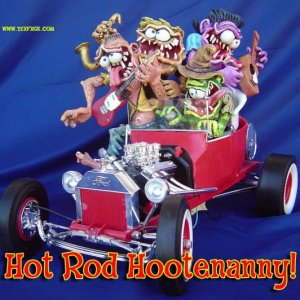 Hotrod Hootenanny (from the 1963 LP cover)