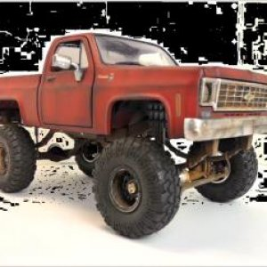 square body Chevy diecast