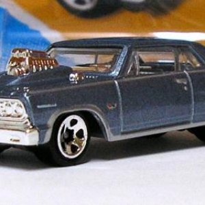 2 247 2 50 V5560 05A1 G1 5785 0302N E05 1964 '64 Chevy Chevelle SS   Hot Wheels 01