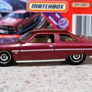 53 100 FYP27 MB1172 M38 GKN78 DNK70 1975 '75 Chevy Caprice   Matchbox 01