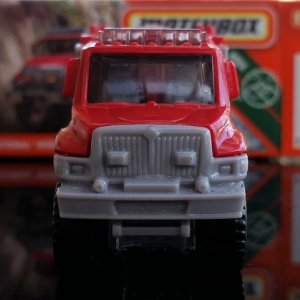 74 100 MB939 M38 GKN06 DNK70 2007 International Workstar Brush Fire Truck   Matchbox 02