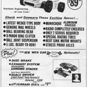 RC Ads from 1970