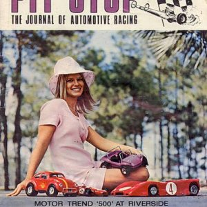 1971 Pit Stop Magazine Cover