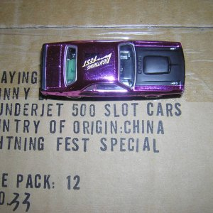 Slot Cars Lightning Fest 2002 ,Sealed Case