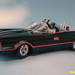 Third Models Batmobile with Bat Ram