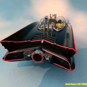 Third Models Batmobile rear view