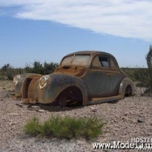 '40 Ford Coupe - Desert