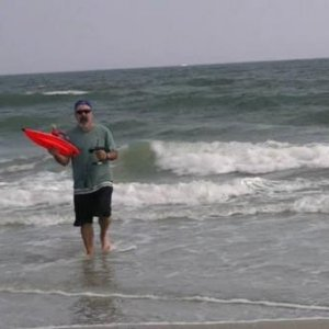 RC surfing at ocean city new jersey