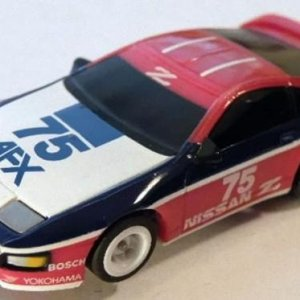 Tomy AFX Nissan 300Z Red White Blue 75
