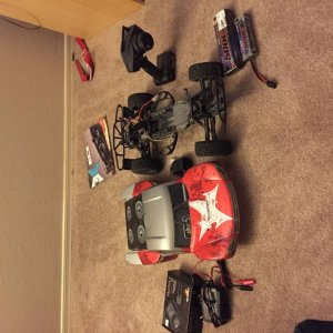 The 2 rc cars I want to sell