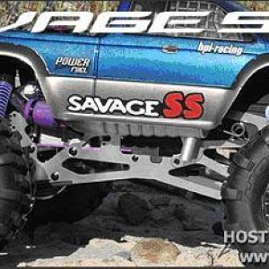 Special Edition HPI Savage SS