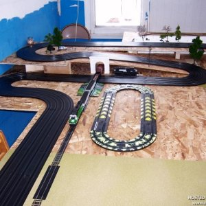 Current Layout with Tyco track
