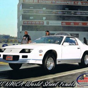 2011 NMCA World Street Finals in Indy.