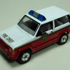 Special Edition Fire Chief Jeep Cherokee