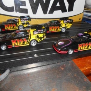kiss dragsters