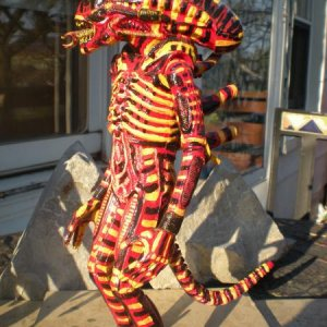 """CORAL SNAKE"" ALIEN CUSTOM PAINT THEME."