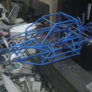 I built this car for a racing buddy,same layout as the green chassis, #2 of 6 built