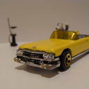 finished '59 Cadillac