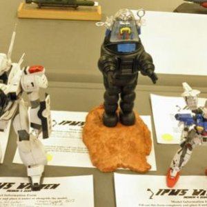 A selection of entries in the Mecha category.