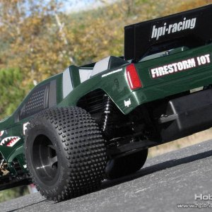 HPI DSX-1 1/10th scale truck body
