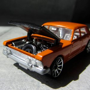 Matchbox Toys Ford Zodiac Mk IV No.53 1969 : 'Big Z' A Zodiac With Attitude