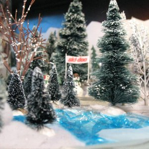 Trees for Snowmobile Layout