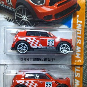 '12 mini countryman rally