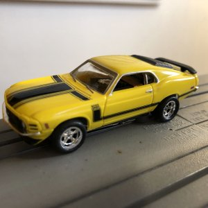 wicked yellow '70 Boss 302-another favorite