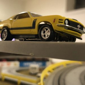 yellow '70 Boss 302