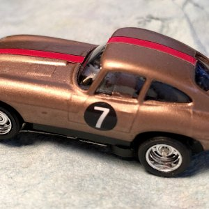 Jaguar E-Type coupe: home made resin kit