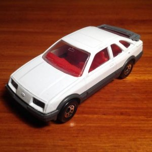 1:64 scale Sierra before customisation