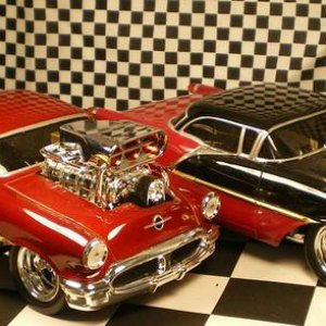 56 OLDS NICE PAIR OF FIFTYSIXES..........
