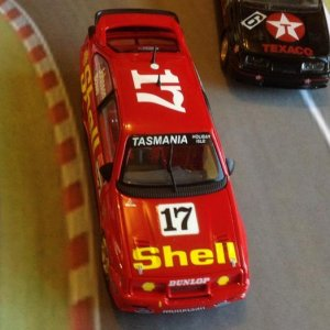 1:43 scale 1992 Bathurst DJR Shell Ford Sierra #17   Drivers: Dick Johnson and John Bowe