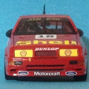 1:43 scale 1992 DJR Shell Ford Sierra Cosworth RS500 Australian Touring Car Championship  Driver: John Bowe