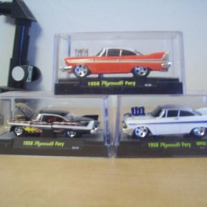 '58 Plymouths 1/64 custom variations.