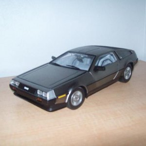 Stock '81 or '82 DeLorean DMC-12 1/18 I like them thanks to Back To The Future, but wanted one without the time travel equipment.