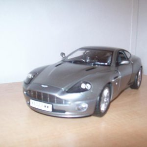 Pierce Brosnan's Aston Martin Vanquish 1/18 from Die Another Day. The weapons do not operate any longer. :(