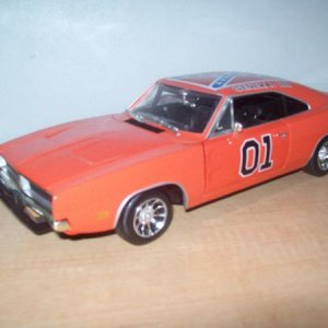 General Lee 1/18 from the show.