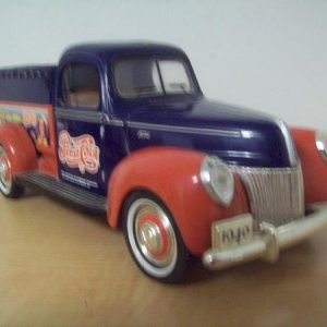1940 Ford 1/24. This belonged to my wife's Grandpa.