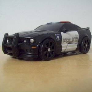 Barricade from '07 Transformers. Not diecast.