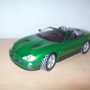 Zao's Jaguar 1/18 from Die Another Day. It's weapons are stuck from age; the same as the Aston Martin.