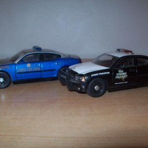 '06 Georgia and Texas 1/43 state cops.