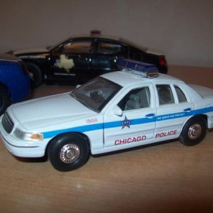'99 Crown Vic Chicago 1/43