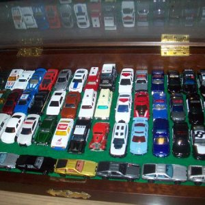 Hot Wheels and Matchbox I have (thus far?). Sold a lot of ones I had in another 1/64 collection in 2005 due to lack of display space. This was a coin