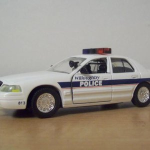 '99 Crown Vic Willoughby Ohio (about 45 miles West of us) cop.